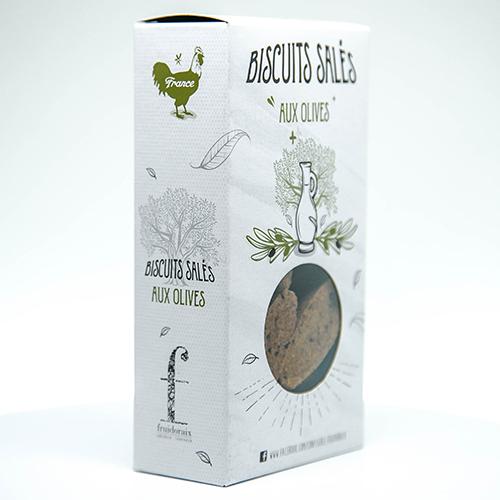 biscuits salés olive Fruidoraix Aix-en-Provence