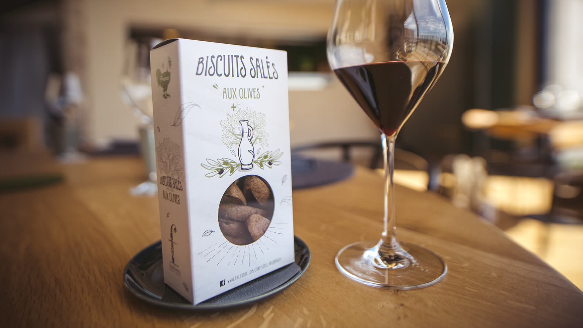 Fruidoraix biscuits salés olive Aix-en-Provence
